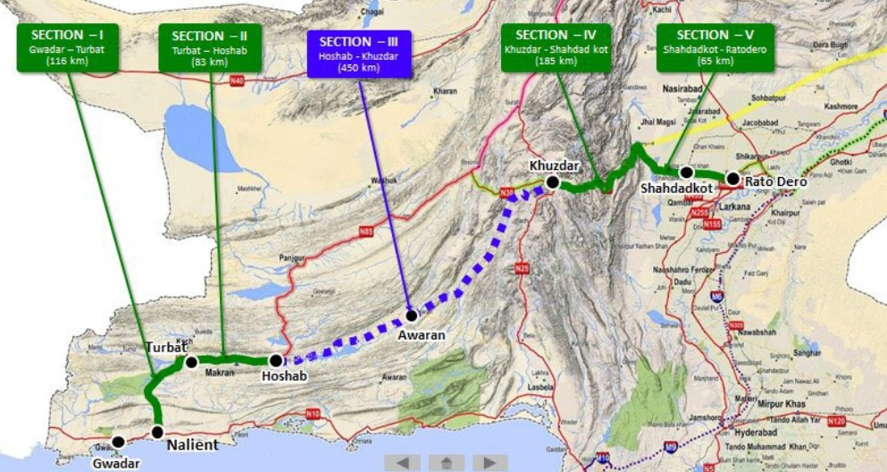 CDWP approves Rs. 26 Billion for Hoshab to Awaran Section of M8 ...